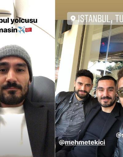 İlkay Gündoğan İstanbul'a geldi