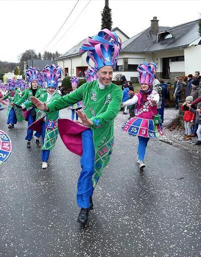 Belçika'daki 'Türk köyü'nde renkli karnaval