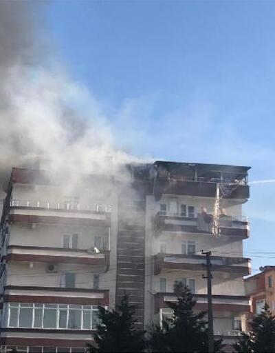 Yalova'daki yangında 2 daire kullanılamaz hale geldi