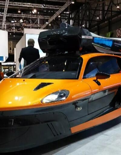 Uçan otomobil tanıtıldı... İşte fiyatı ve özellikleri