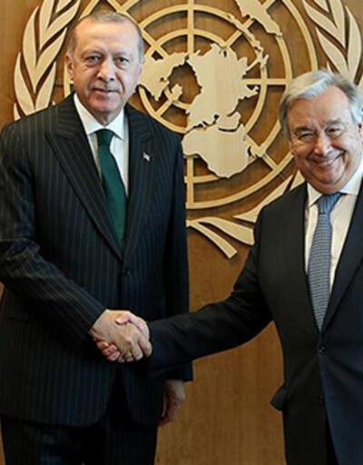 Son dakika... Cumhurbaşkanı Erdoğan, Guterres ile telefonda görüştü