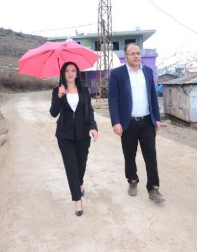 Şırnak'ta kadın muhtar adayı, 3 erkekle yarışıyor