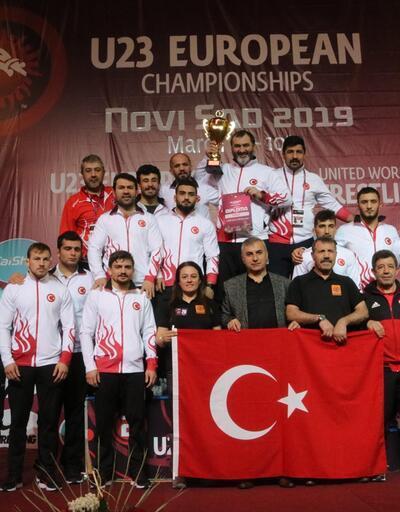 Avrupa Güreş Şampiyonası'nda Milli gurur: 2 altın, 5 gümüş ve 11 bronz
