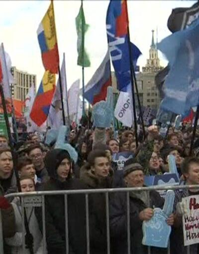 Rusya'da internet eyleminde 28 kişi gözaltına alındı