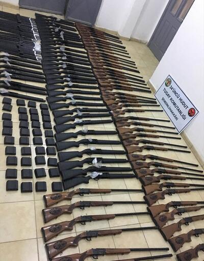 Hakkari'de 100 av tüfeği ele geçirildi