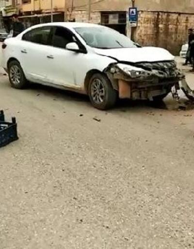 Şanlıurfa'da otomobil sepetli motosiklete çarptı: 2 yaralı