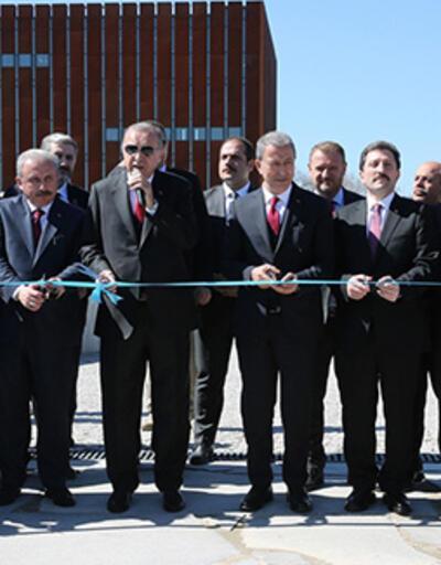 Cumhurbaşkanı Erdoğan, Troya Müzesi'nin açılışını yaptı