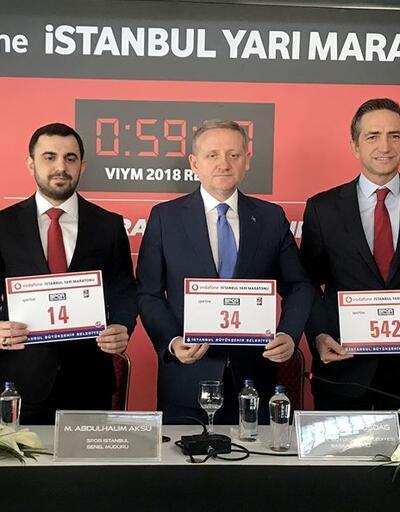 Vodafone 14. İstanbul Yarı Maratonu 7 Nisan'da yapılacak
