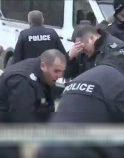 Polis sıktığı biber gazından etkilendi