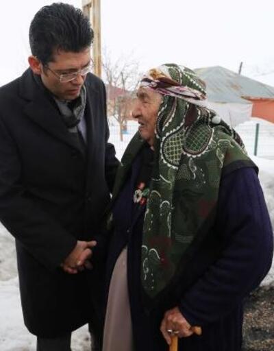 Kaymakam Kaçmaz'dan yaşlılara ziyaret