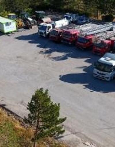 Kangal'da belediye araç parkına 8 milyon liralık yatırım