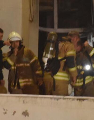 Ege Üniversitesi Çocuk Hastanesi'nde yangın