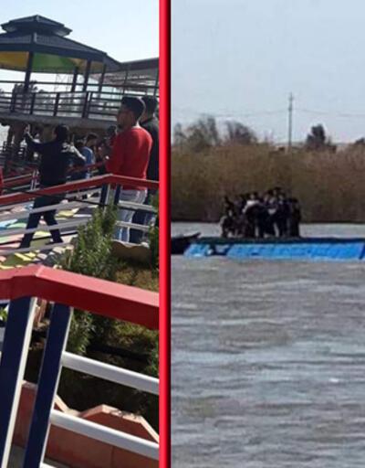 Musul'da feribot battı: 85 ölü