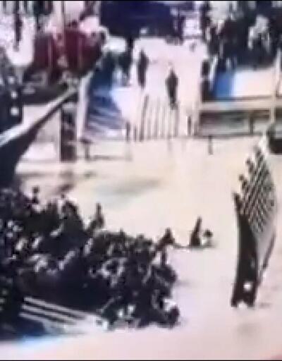 İşte saniye saniye Musul'daki feribot faciasının görüntüleri
