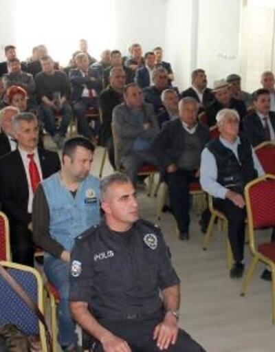Yeşilova'da Salda Gölü bilgilendirme toplantısı