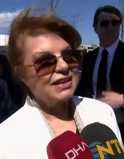 Eski Başbakan Tansu Çiller, Yenikapı'da