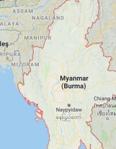 Myanmar'da depoda patlama: 16 ölü, 48 yaralı