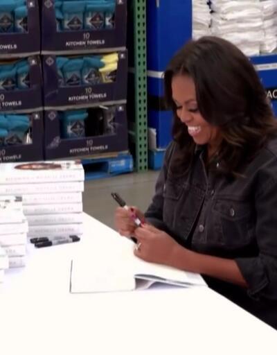 Michelle Obama'nın kitabı 10 milyon sattı
