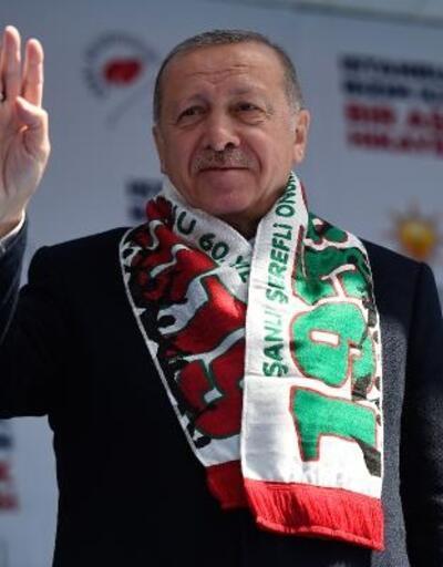 Cumhurbaşkanı Erdoğan Bayrampaşa'da konuştu