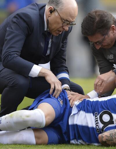 Braga 2-3 Porto / Maç Özeti... Alex Telles penaltı atarken sakatlandı