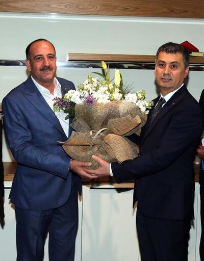 Gölbaşı Belediyesi'nde devir teslim töreni yapıldı