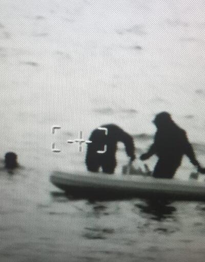 Boğulmak üzereyken son anda kurtarıldılar