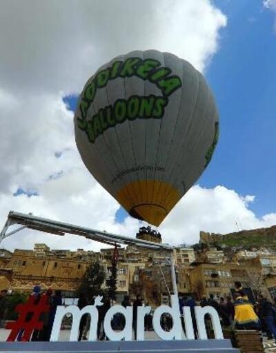 Mardin'de balon turizmi başladı