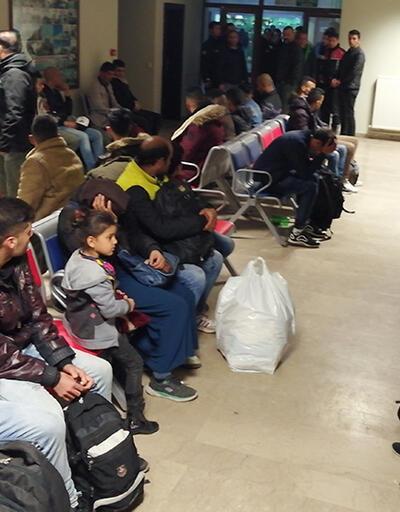 Edirne'de 950 göçmen yakalandı