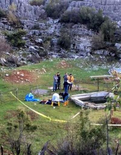 Karı- koca arazideki havuzda ölü bulundu