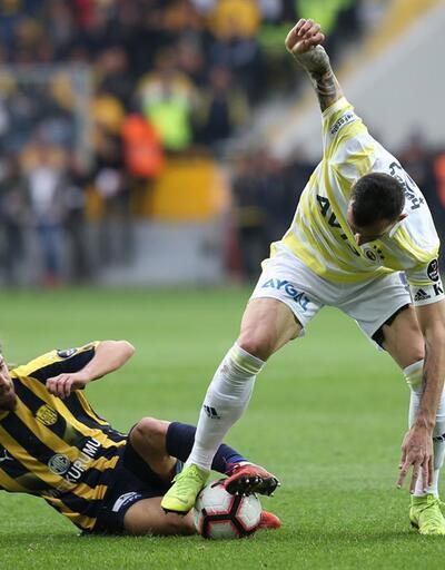 Fenerbahçe'de üç forvetin toplam golü sekiz