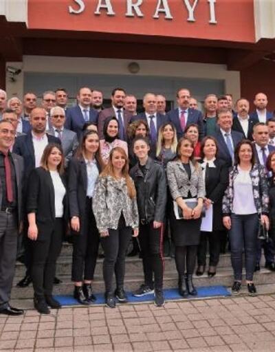 Çatalca Belediye Başkanı Mesut Üner mazbatasını aldı