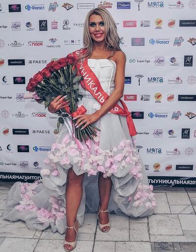 Rus papazın eşi güzellik yarışmasına katıldı, ülkede ortalık karıştı