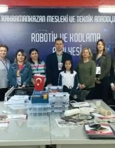 Kahramankazan'da 'Robotik Kodlama Atölyesi' kuruldu