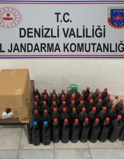 Buldan'da kaçak şarap ele geçirildi