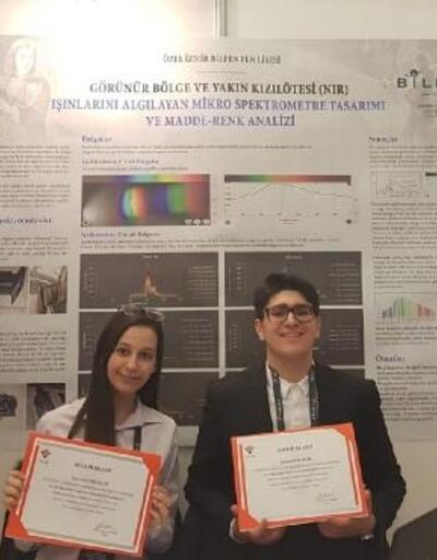 Liseli öğrenciler 'TÜBİTAK Proje Yarışmasında' Türkiye 2'ncisi oldu