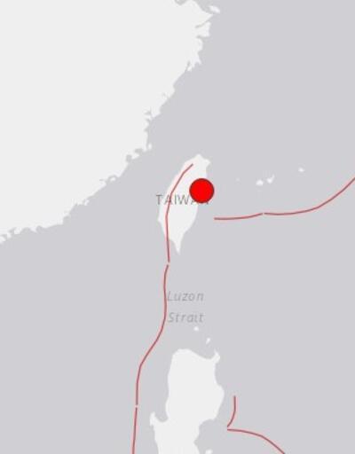 Son dakika... Tayvan'da 6,1 büyüklüğünde deprem