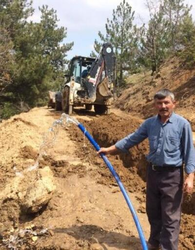 Kovancı Mahallesi'ndeki isale hattı yenileniyor