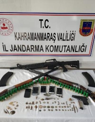 Afşin'de define arayanlara operasyon: 7 gözaltı