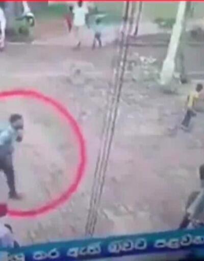 Saldırganlardan biri güvenlik kamerasında