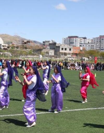 Ergani'de 23 Nisan coşkusu