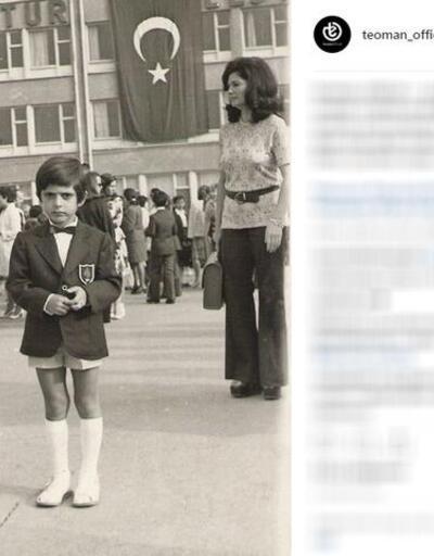 Teoman çocukluk fotoğrafını paylaştı