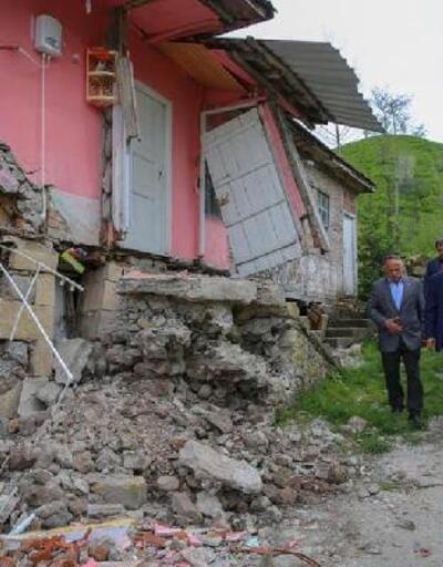 Ordu'da heyelan: 6 ev tahliye edildi