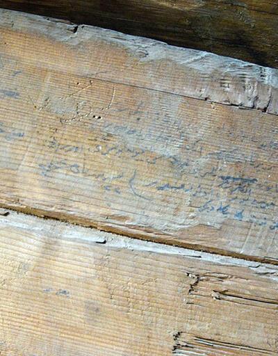 Restorasyonda 1917 yılına ait not bulundu