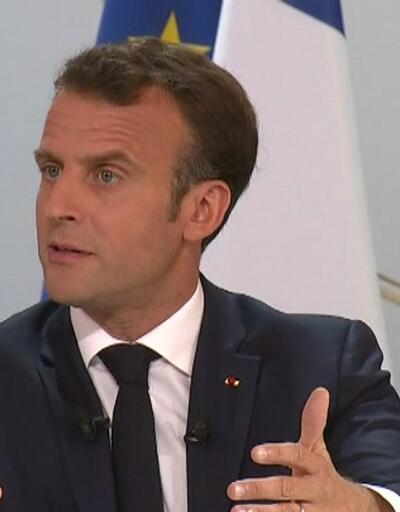 Son dakika: Macron'dan görüşme açıklaması!