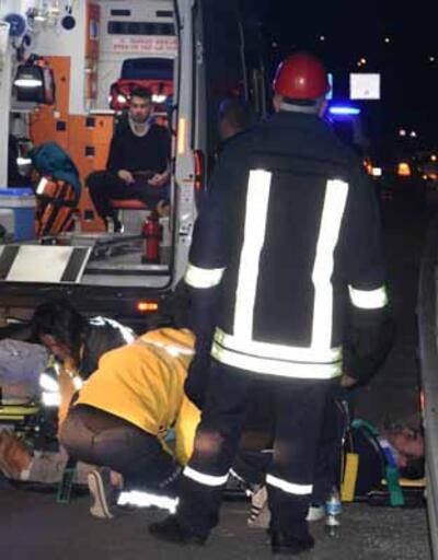 Kırıkkale'de 'emniyet kemeri' hayat kurtardı