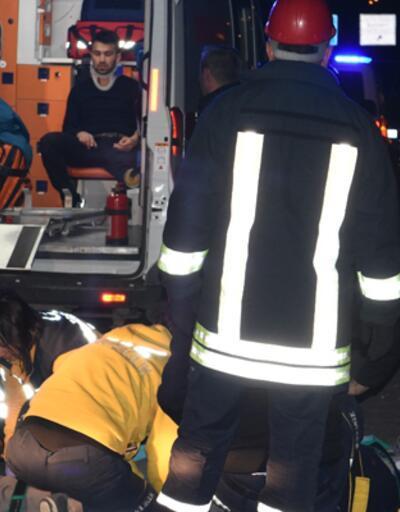 Kırıkkale'de feci kaza! Emniyet kemeri hayat kurtardı