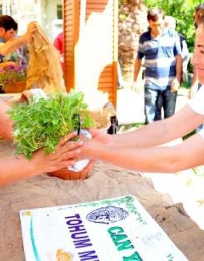 Seferihisar'da 9'ncu tohum takas şenliği