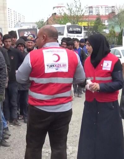 200 göçmen Diyarbakır'da