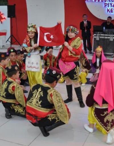 Havran'da Halk Oyunları Şenliği yapıldı