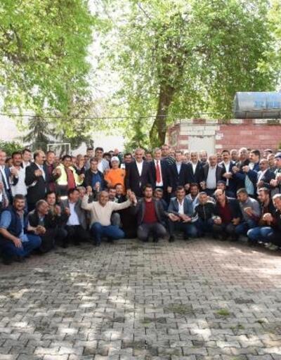 Hilvan Belediyesi'nde çalışan işçiler altınla ödüllendirildi